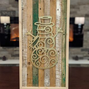 christmas-decor-pallet-snowman-gold-sparkle-pine-wall-art-green-white-small-large