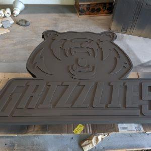 grizzlies-hockey-sign-cnc-cut-base-coat-paint