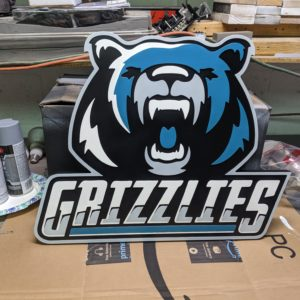 grizzlies-hockey-sign-cnc-cut-painted-finished